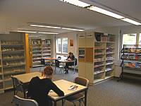 Photo d'un centre d'information sur les études et les professions