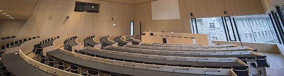 Nouveau parlement vaudois: hémicycle