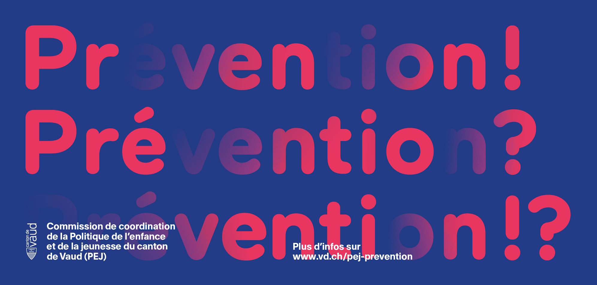 Année de la politique de l'enfance et de la jeunesse dédiée à la prévention