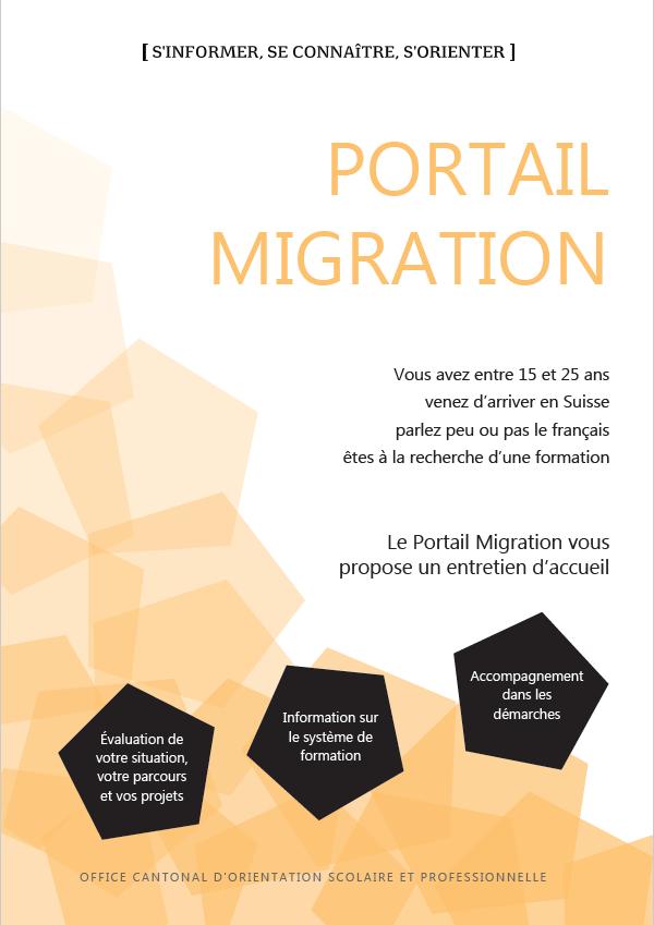 Flyer Portail Migration
