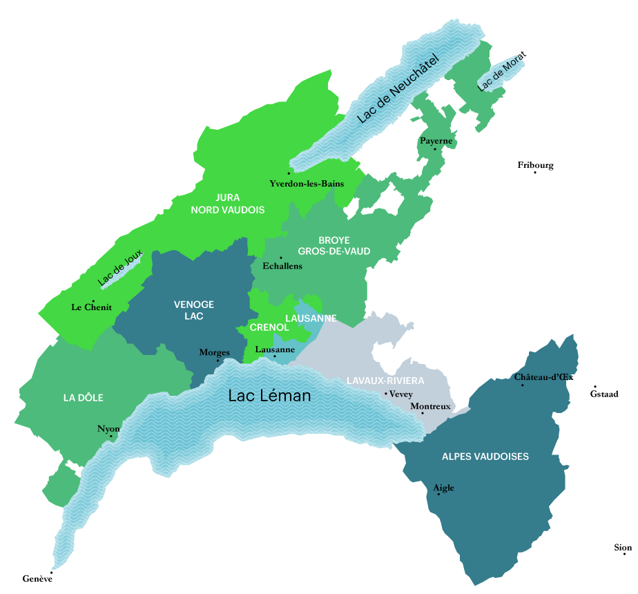canton de vaud carte Les établissements scolaires | État de Vaud