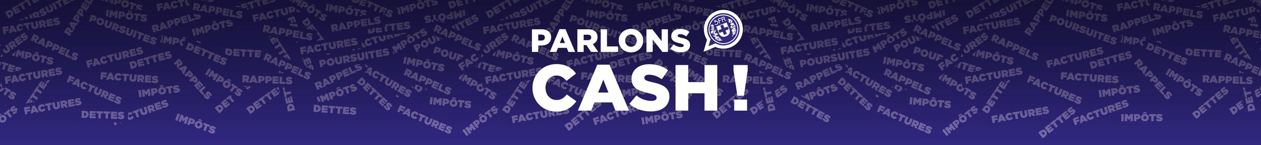 Bannière parlons cash